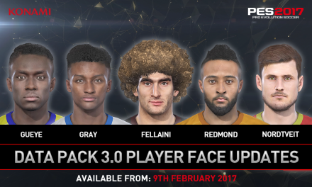 PES 2017 Data Pack 3 Coming Next Week