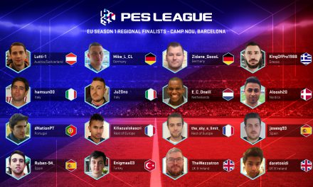 PESLeague European Regional Finalists Confirmed