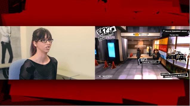 Persona 5 Trailer Shows Ann Takamaki Voice Actor Dive in
