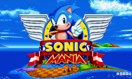 Sonic Mania Competition Mode Announced