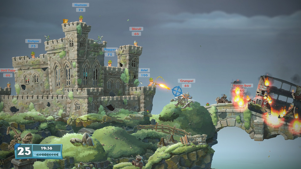 Worms W.M.D Update Adds Forts Mode