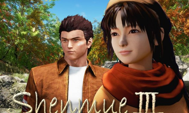 "Shenmue III Opinion Piece ""Raise Your Game Yu"""