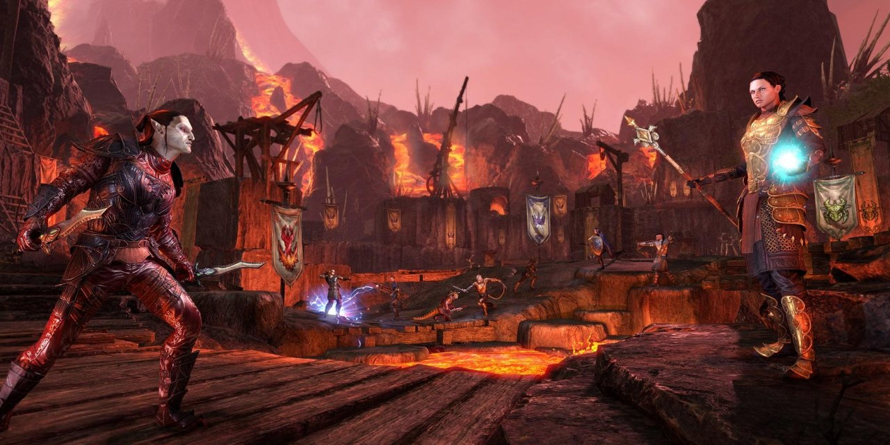The Elder Scrolls Online Morrowind Out Now