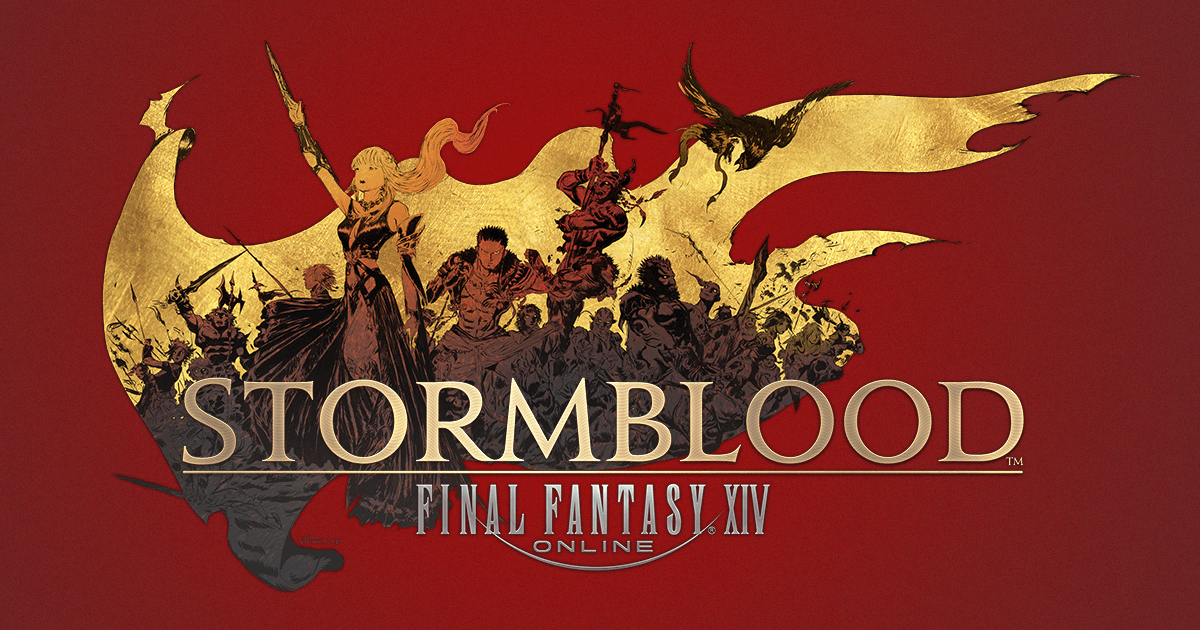 Final Fantasy XIV: Stormblood Out Now