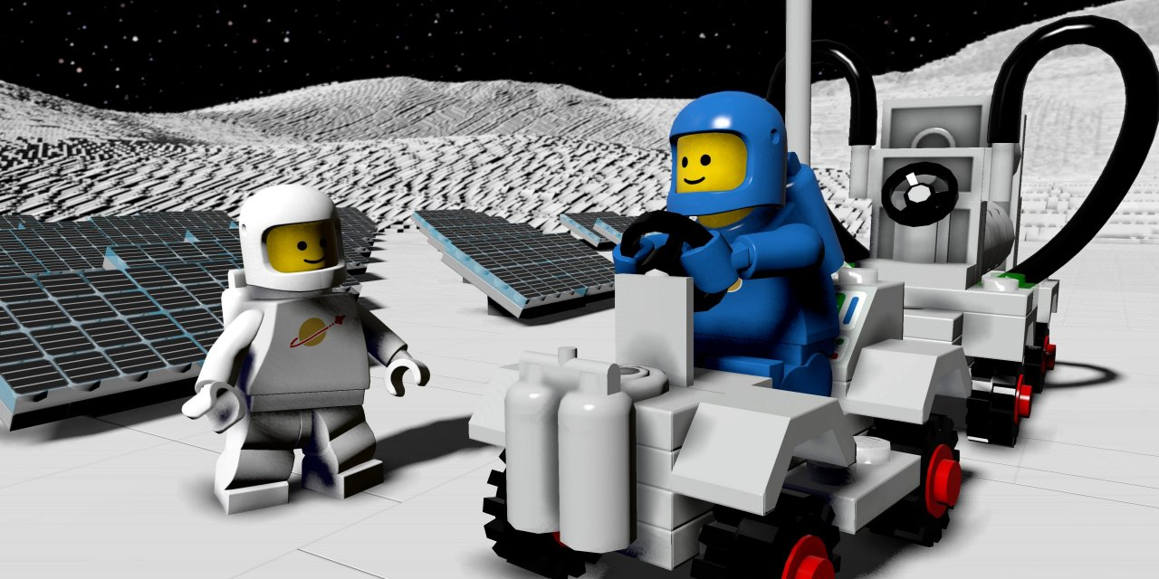 LEGO Worlds Classic Space DLC Pack Out Now
