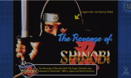 SEGA Forever Adds The Revenge of Shinobi