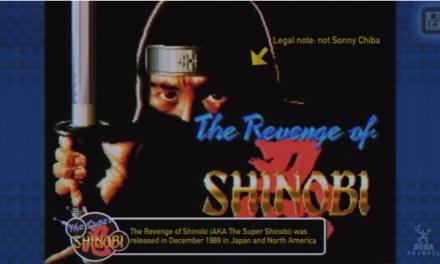 SEGA Forever Adds The Revenge of Shinobi