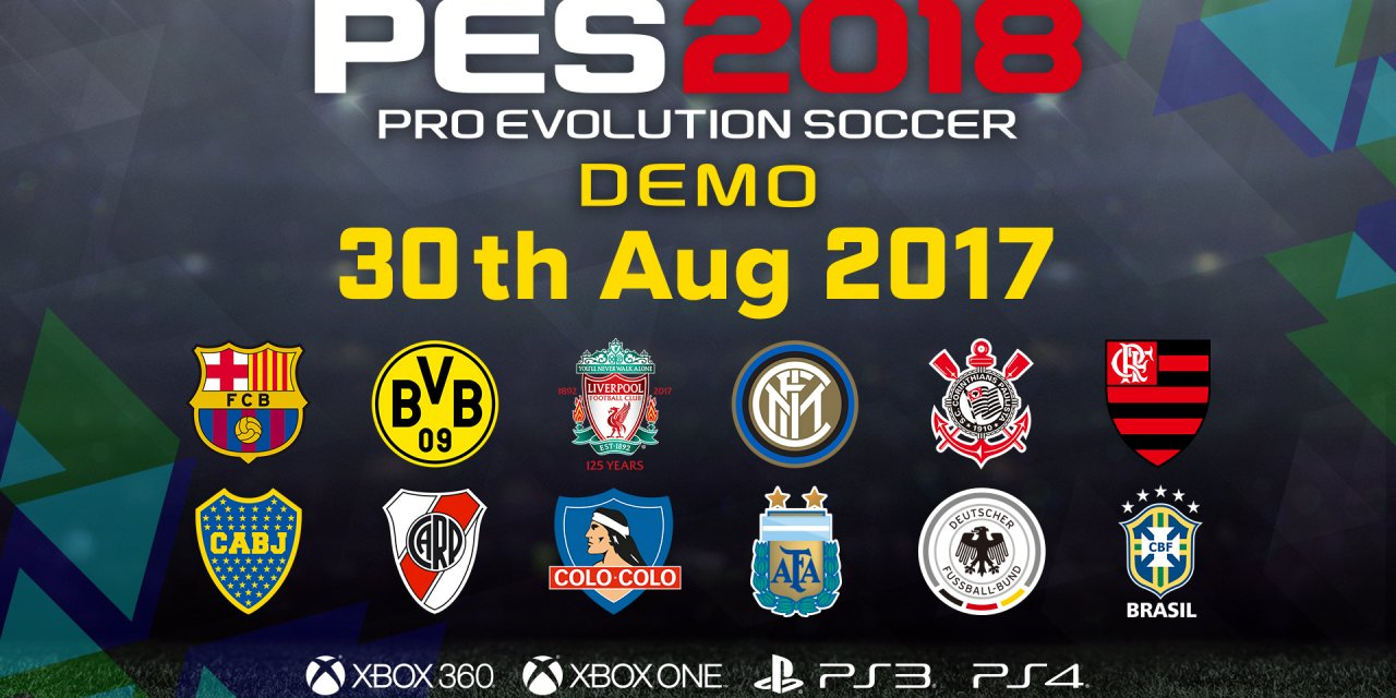 PES 2018 – Gamescom Blowout!