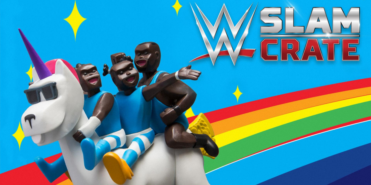 Loot Crate Attending London Podcast Festival with WWE Slam Crate