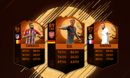 FIFA 18 Scream Halloween Event