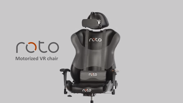 Roto VR Chair Shipping in February, 2018