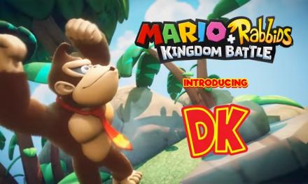 Donkey Kong Swings His Way onto Mario + Rabbids Kingdom Battle