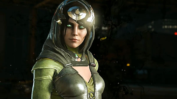 Enchantress Star of New Injustice 2 Trailer