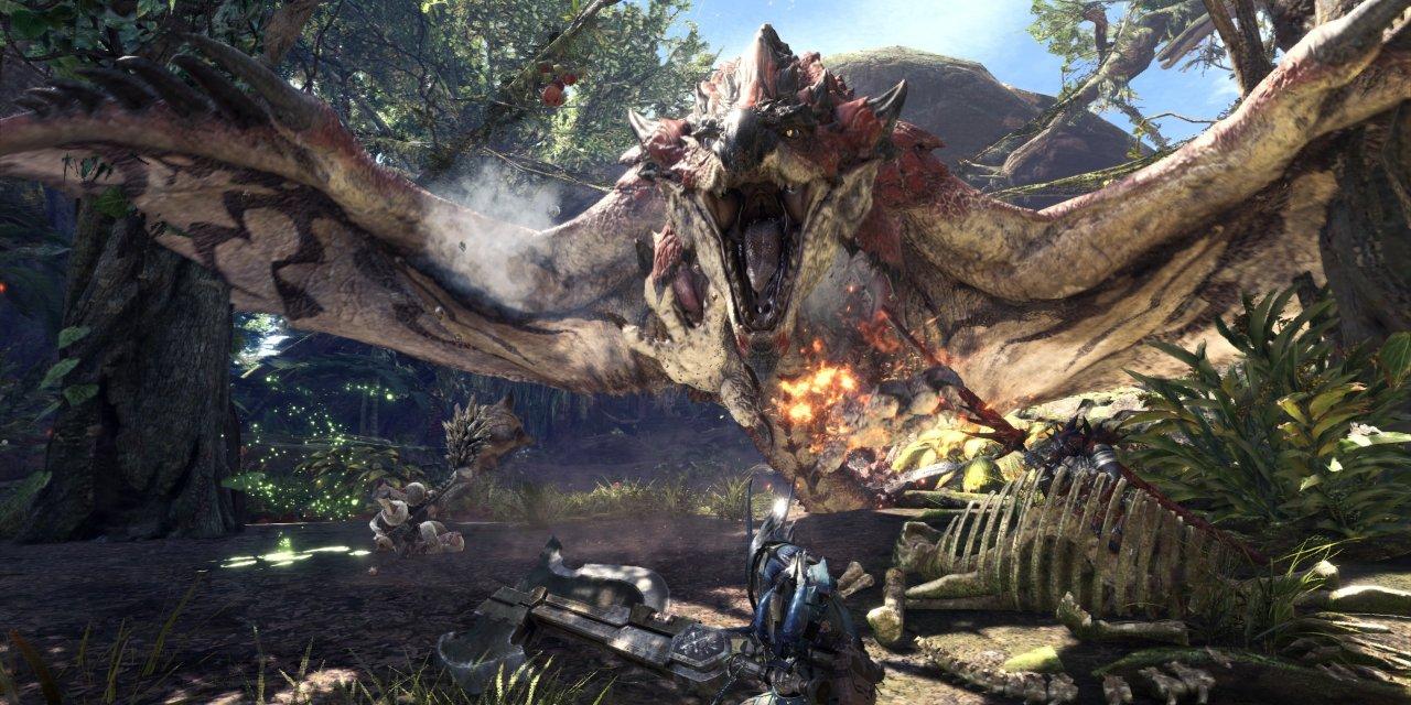 Monster Hunter: World Introduces Elder Dragons