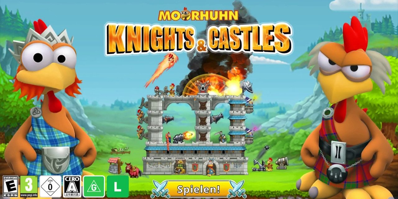 Review – Moorhuhn Knights & Castles (Nintendo Switch)