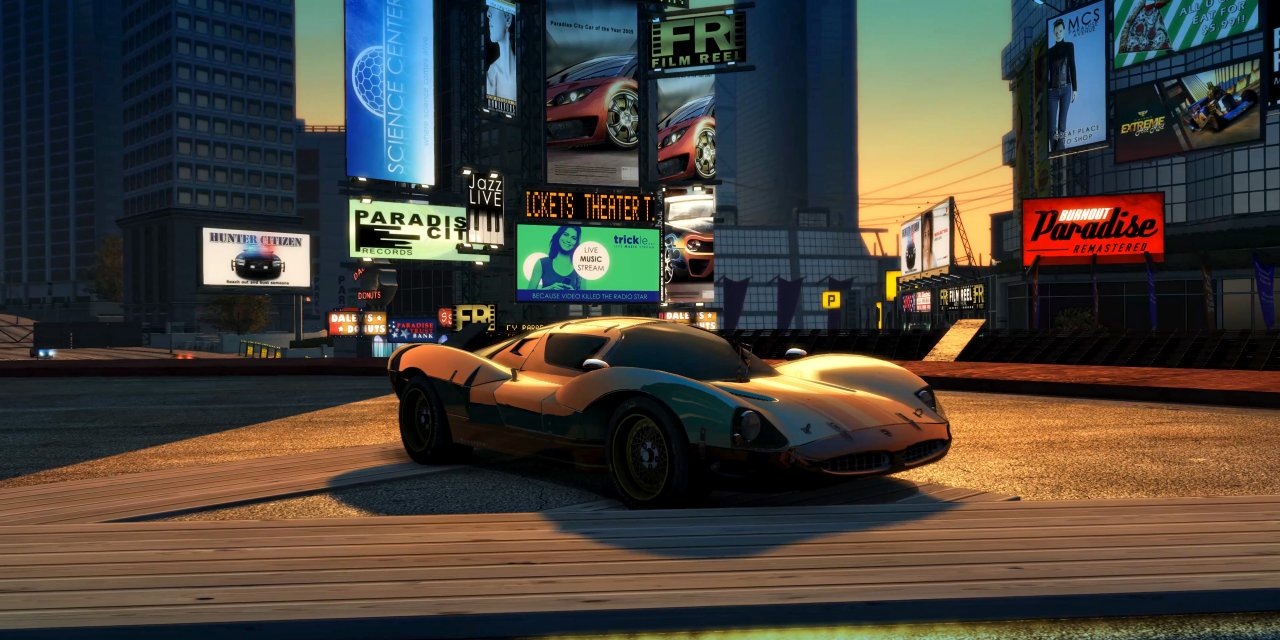 Burnout Paradise Remastered is Coming Next Month!