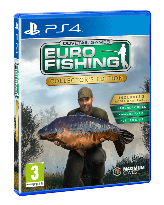 Euro fishing collector 39 s edition out now game hype for Playstation 4 fishing games
