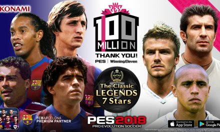 PES 2018 & Mobile 100 Million Campaign Revealed