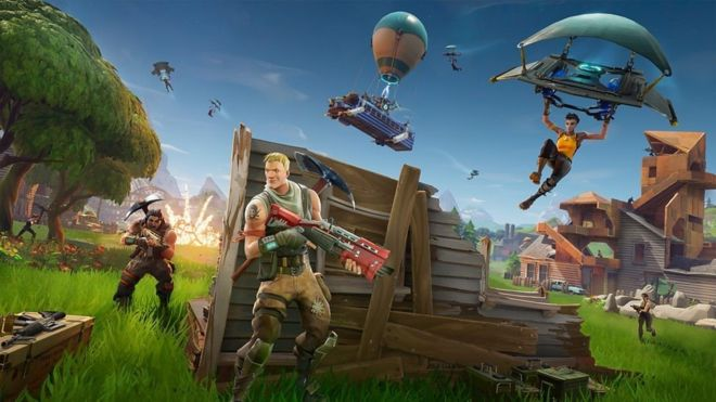 Fortnite Battle Royale Out Now on Nintendo Switch