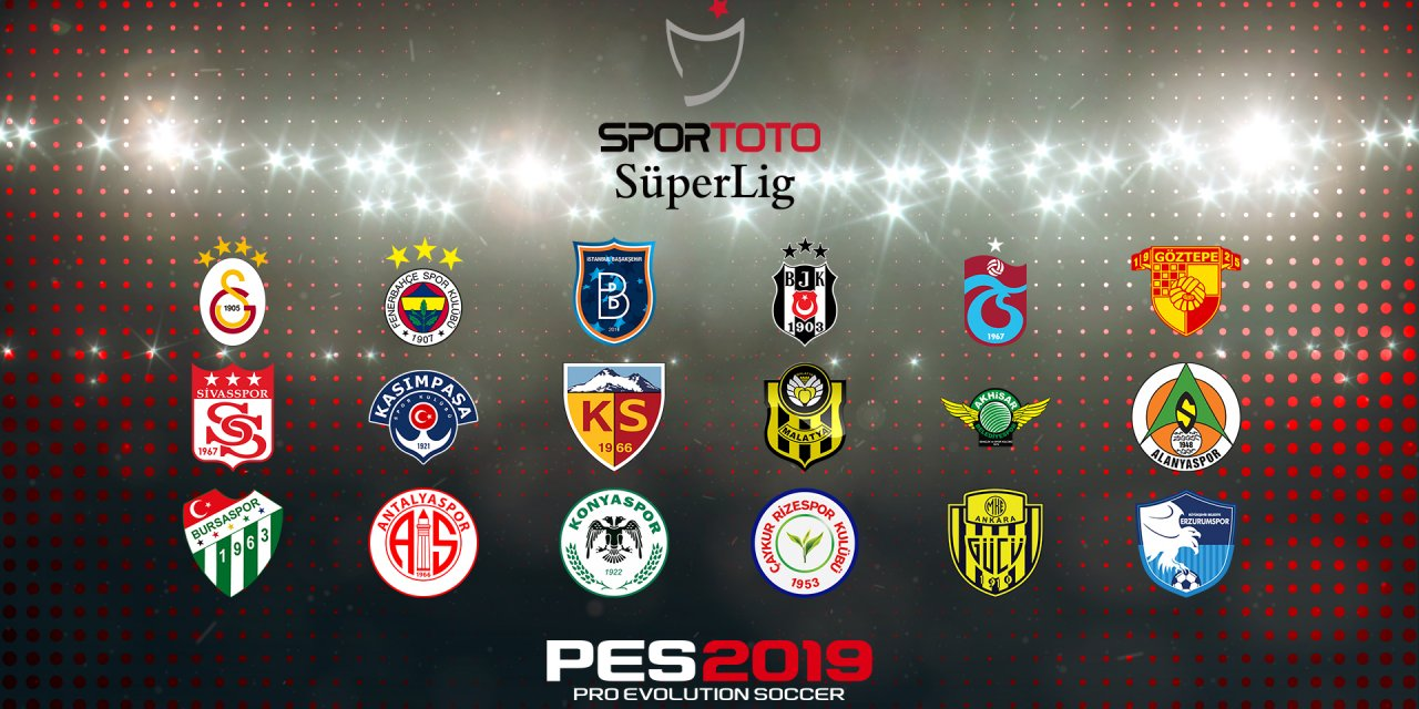 Turkish Süper Lig Coming to PES 2019