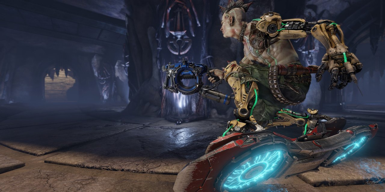 Quake Champions Update Includes Molten Falls Arena