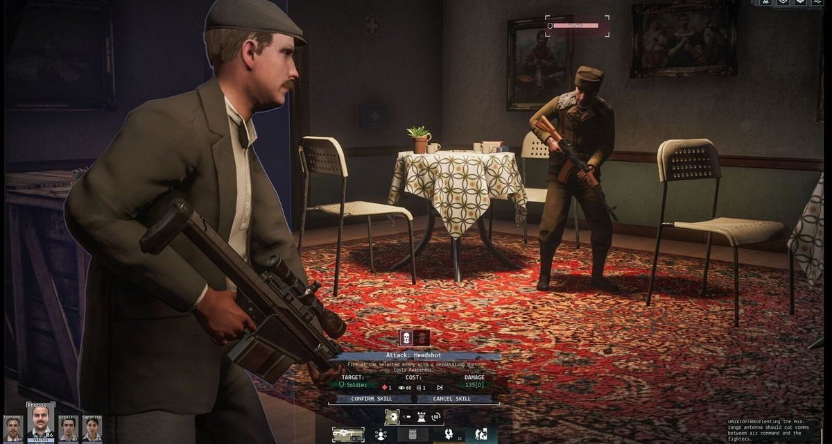 Phantom Doctrine Out Now on PS4 & PC
