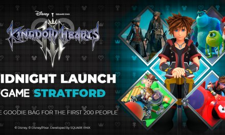 Kingdom Hearts III Midnight Launch