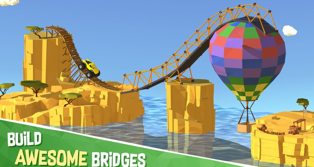 Build a Bridge Out Now on Nintendo Switch