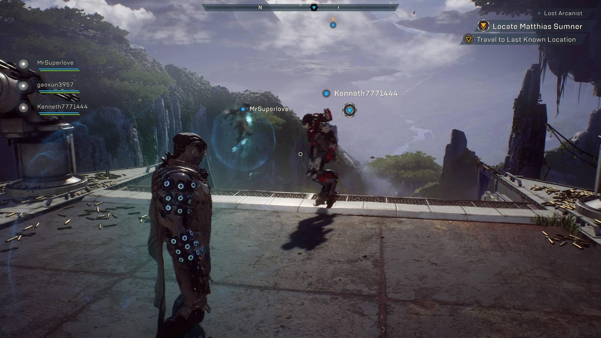 Anthem Squad Gameplay Game Hype