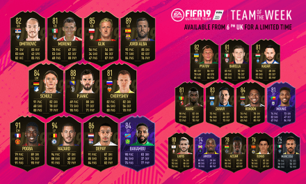 FIFA 19 TOTW 28