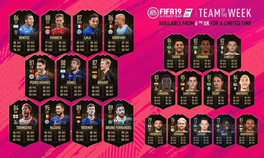 FIFA 19 TOTW 34
