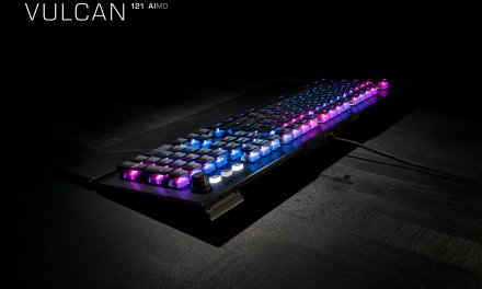 New Variants Of Roccat's Award-Winning Vulcan Series Mechanical Gaming Keyboards Now Available At Retail
