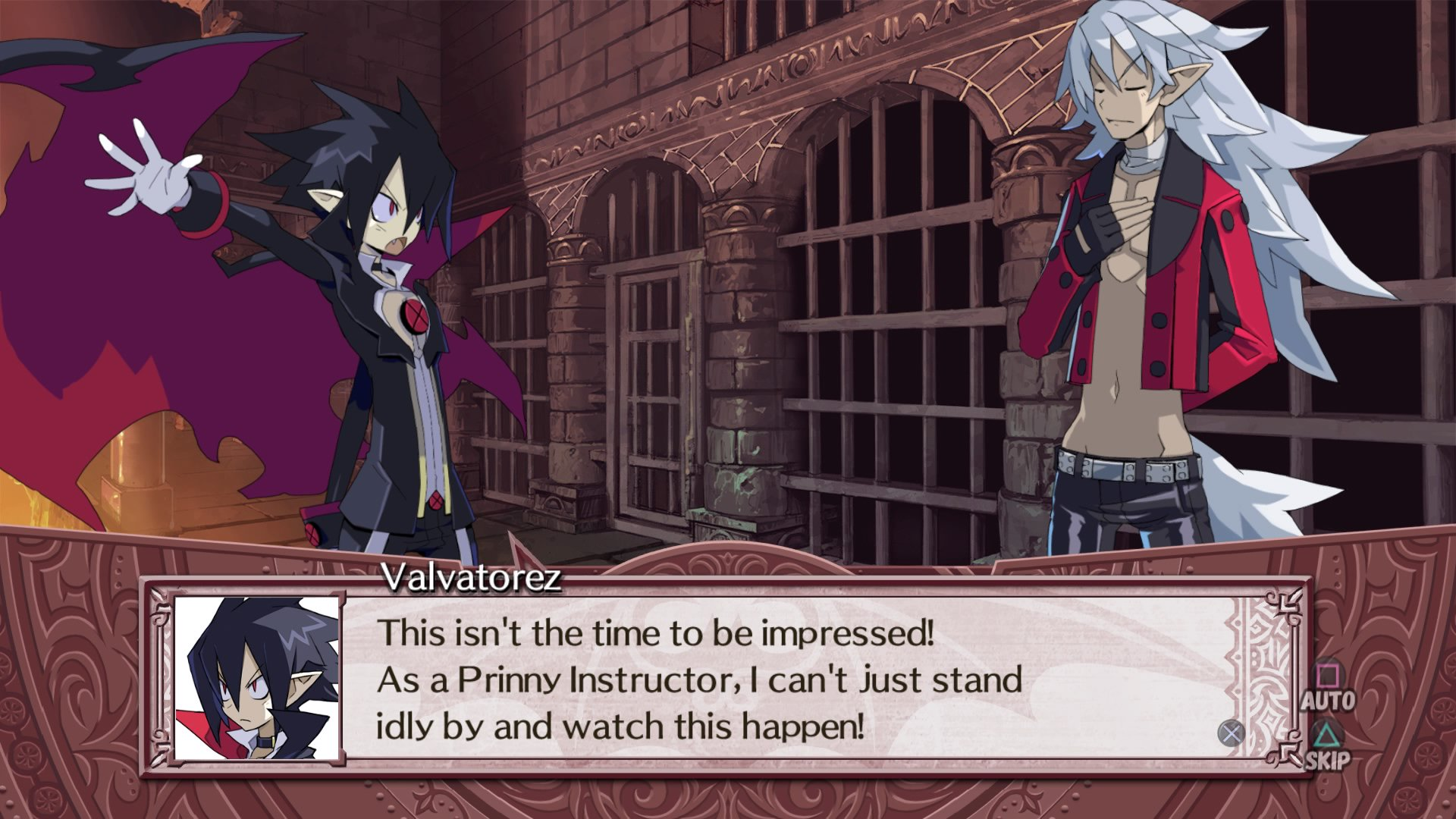 This image has an empty alt attribute; its file name is Disgaea4Cutscene.jpg