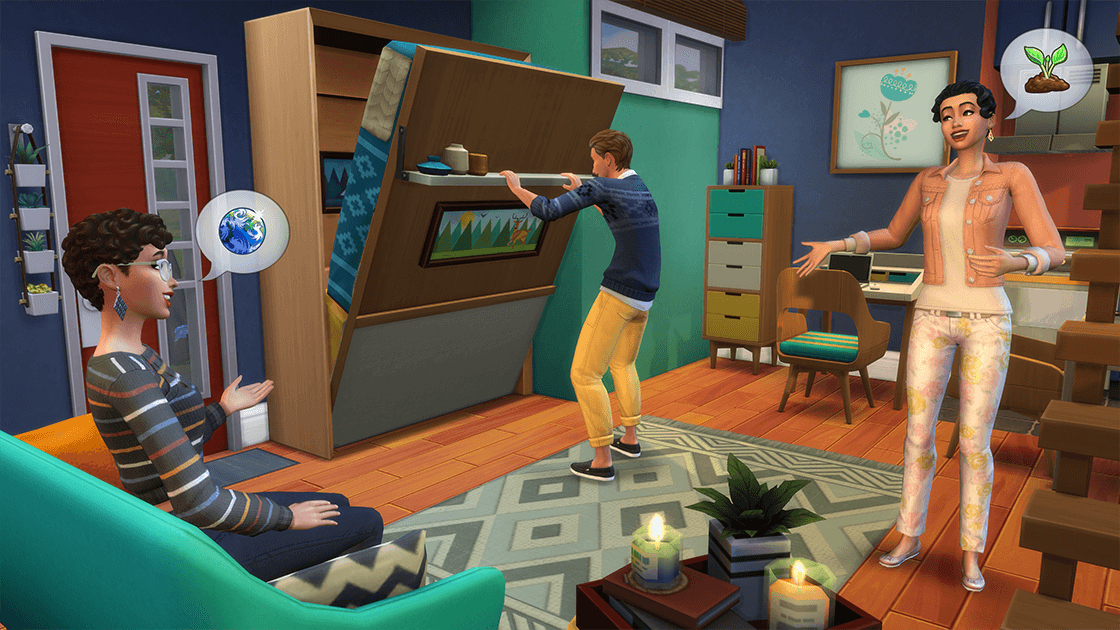 The Sims 4 'Tiny Living Stuff Pack' Trailer Released