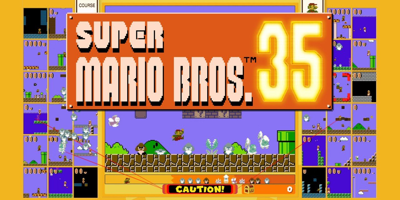 Review – Super Mario Bros 35 (Switch)