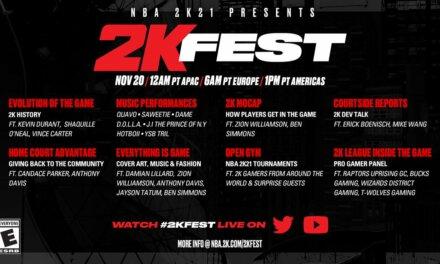 2K Unveil 2KFest