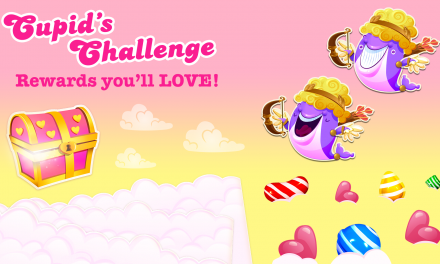 Candy Crush Saga Brings in Cupid's Challenge to Celebrate Valentine's Day