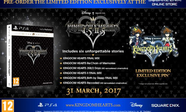 Kingdom Hearts 1.5 + 2.5 ReMIX Limited Edition Available to Pre-Order
