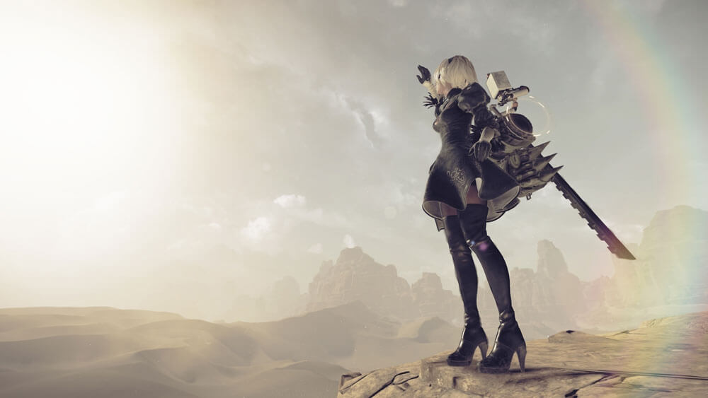 NieR Automata Trailer Shows Off Main Weapon Types