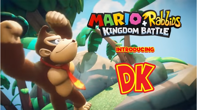 Donkey Kong Swings His Way onto Mario + Rabbids Kingdom Battle