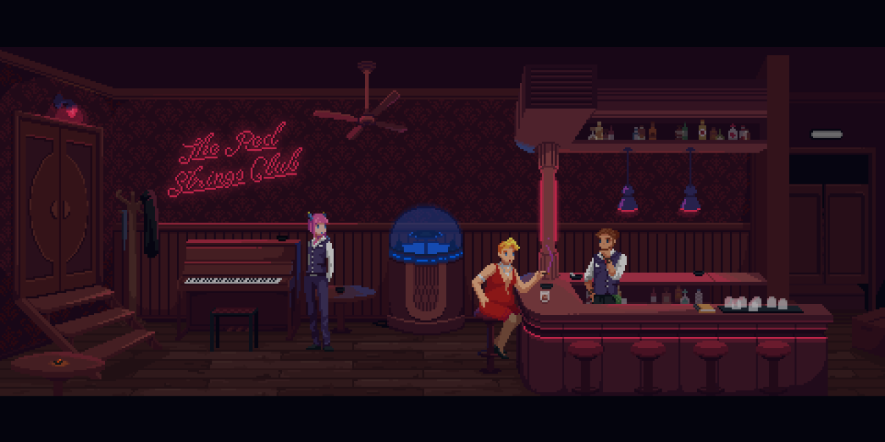 The Red Strings Club Launches This Month