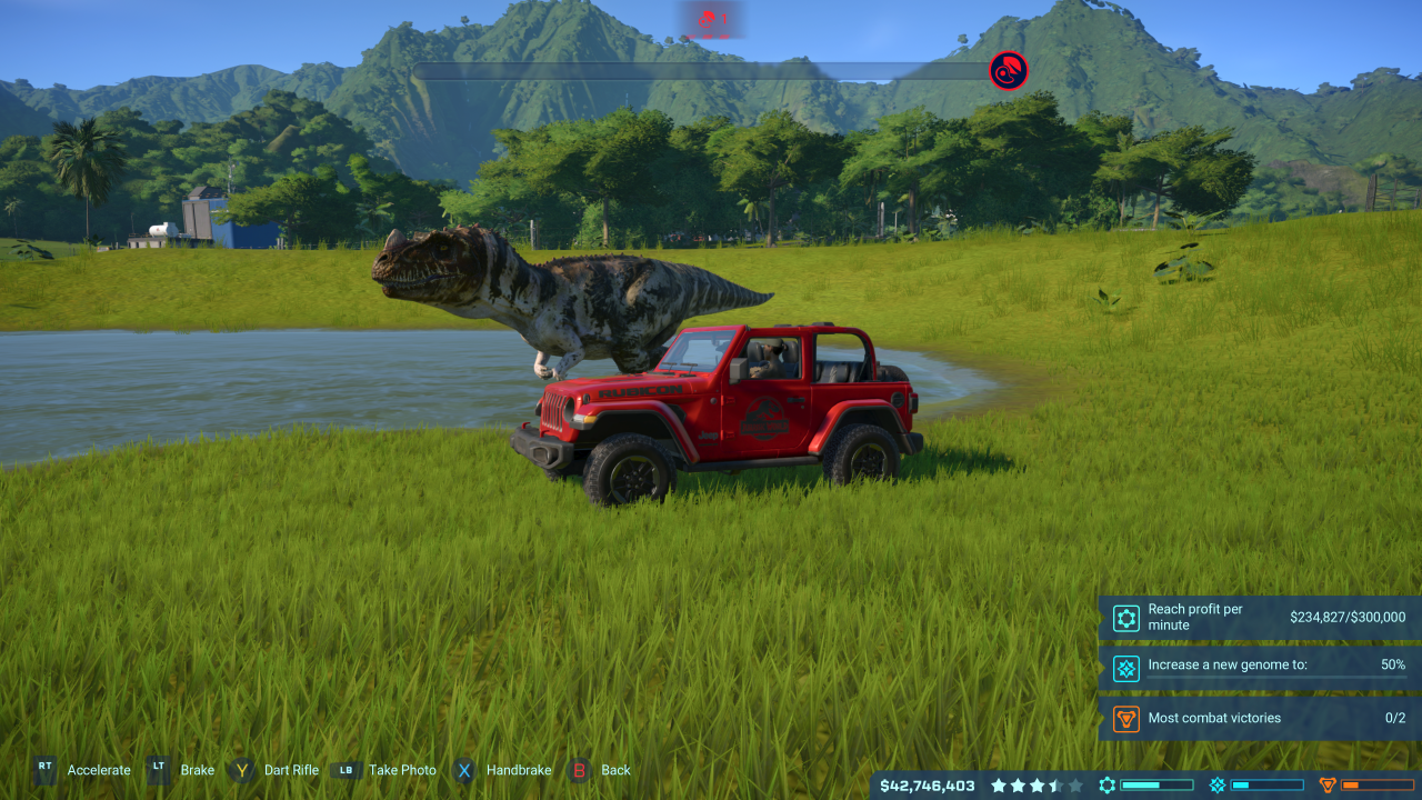 review  jurassic world evolution xbox one  game hype