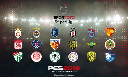 Turkish Süper Lig Coming to PES 2019