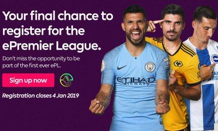 ePremier League Final registration day